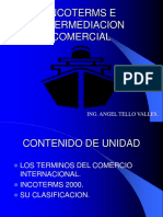 INCOTERMS e Intermediación Comercial