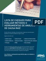 Check List for Evaluating RCA Methods_SP_V1