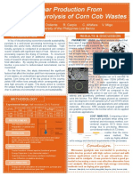 Poster - Biochar production from microwave pyrolysis of corn cob wastes
