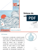 """Síntese Da Unidade 3-""""Farsa de Inês Pereira"""""""