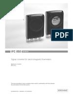 Krohne Ifc050 Manual