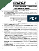 Sistema Financeiro - PROVA IBGE