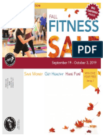 Fall Fitness SALE 2019