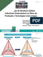 Valorização de Resíduos Sólidos Industriais (Coprodutos) na Ótica da Produção e Tecnologias mais Limpas