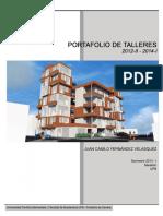 Portafolio Talleres Juan Camilo Fernandez V