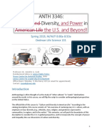 syllabus anth 3346 - cult div and power in us spring 2019 4-12-2019