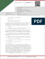 Cod Orgánico de Tribunales; Ley 7421_09 Jul 1943
