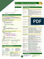 Mémento HTML