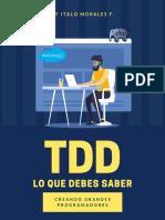Tdd Lo Que Debes Saber v1.1