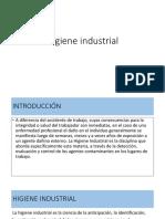 Medida de higiene industrial
