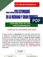 7. COSTOS ESTIMADOS
