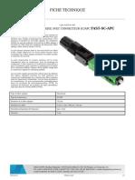 Delta Opti Datasheet FAST SC APC