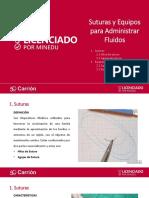 Suturas y Equipos para Administrar Fluidos.pptx