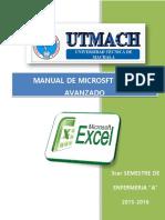 Manujal Excel Intermedio