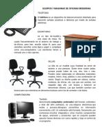 Equipos y Maquinas de Oficinas Modernas