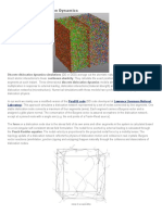 Discrete Dislocation Dynamics
