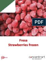 Perfil Comercial Fresa - Concentrart