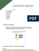 Clasificación de Los Sistema (2)