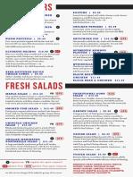 brewhouse menu