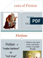 English - Elements of Fiction