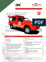 Modelismo ambulancia