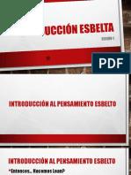 Produccion Esbelta Sesion 1 Introduccion