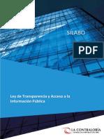 01. Silab Ley Transparencia Acceso Inform
