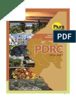 PDRC 2016-2021. Versión Final. 2017