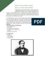Biografia de Felipe Pardo y Aliaga