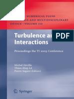Turbulence interactions