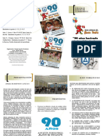 Colegio Agustin Fernandez IED_folleto Semana Del Buen Trato 2019