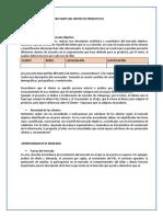 Gestion de Negocios Material de Apoyo para proyecto productivo