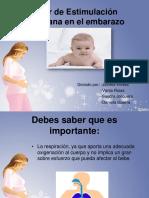Taller de estimulación prenatal