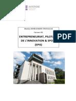Brochure IAE Auvergne - Mention Managt Strat - M2 EPIS - Portrait
