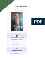 Biografia Fransico de Paula Santander