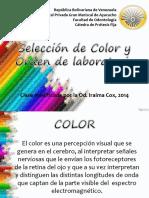 Selección de Color en prótesis fija