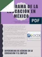 Panorama de La Educación en México