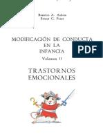 Ashem & Poser. Modificacación de la conducta en la infancia Vol. II. Trastornos emocionales.pdf