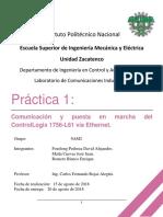 Practica 1 Comunicación ControlLogix