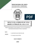 Importante- Túpac Amaru