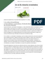 Huerta de Soto. Método y crisis en la ciencia económica - Centro Mises_18.11.17