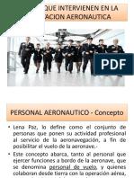 Explotacion Aeronautica Sujetos