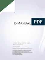Manual das Smart TVs SAMSUNG RU