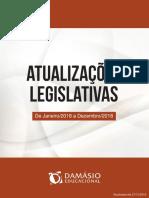 Atualizações Legislativas - Janeiro a Dezembro 2018