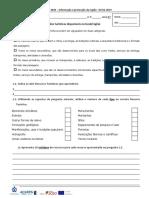 Teste de Avaliação da UFCD 3484