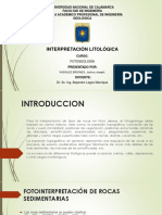 fotogeologia interpretacion litologica