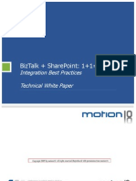 BizTalk Server 2009 and Share Point 2007 Integration - Best Practices - Technical White Paper