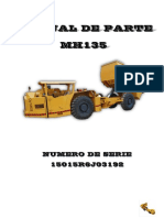 MANUAL DE PARTES DUMPER MH135 OPTIMUS