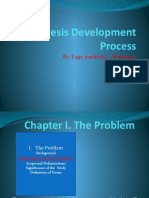 The Thesis Development Process