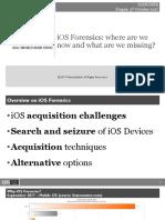 IOS Forensics Prague DFIR 2017